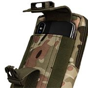 Survival Case Universal XL passend für Apple iPhone | Samsung | Huawei | Xiaomi Handy Hülle Gürteltasche Outdoor