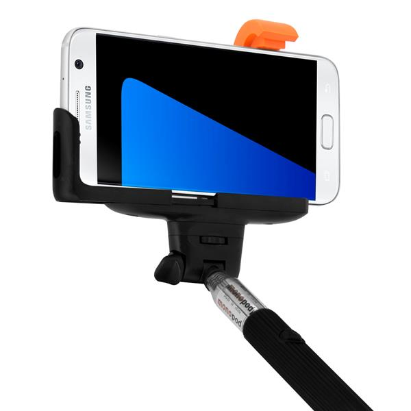 selfie stick f r smartphones teleskop arm ausziehbar. Black Bedroom Furniture Sets. Home Design Ideas
