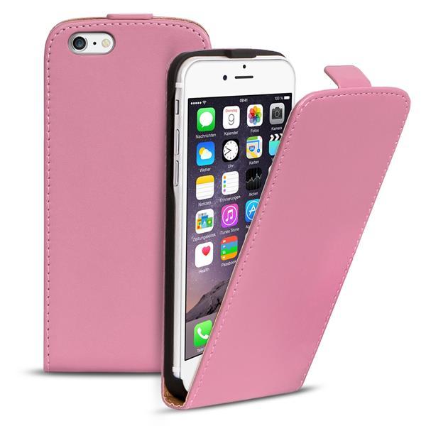 flip case apple iphone 6 6s plus h lle pu leder klapph lle handy tasche cover ebay. Black Bedroom Furniture Sets. Home Design Ideas