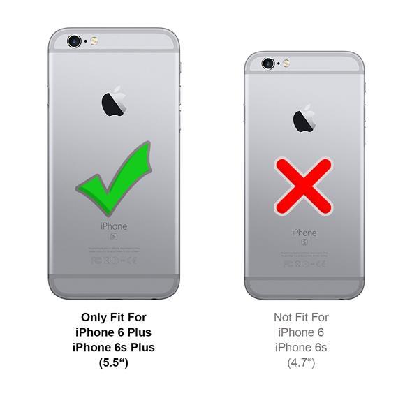 schutzh lle apple iphone 6 plus 6s h lle flip case handy. Black Bedroom Furniture Sets. Home Design Ideas