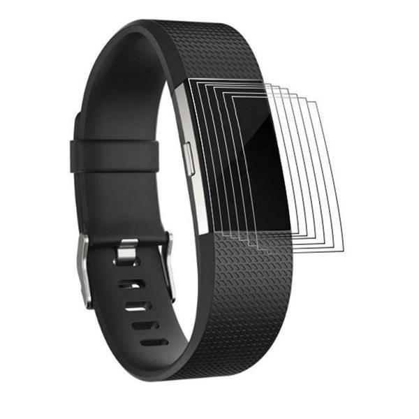 Armband Für Fitbit Charge 2 Gr L 6x Folie Ersatz Silikon Sport Band Fitness