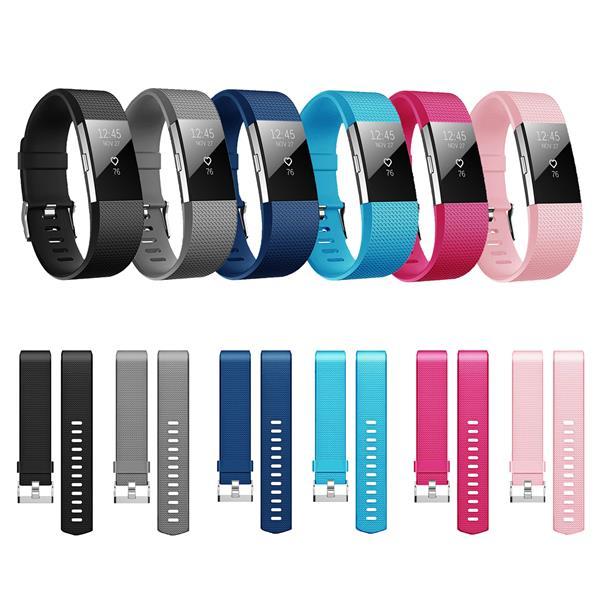 Fitbit Charge 2 Armband Ersatz Silikon Band Uhrenarmband Fitness Tracker BLAU