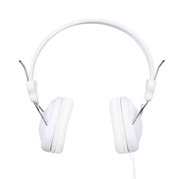 Headset HOCO W5 Kopfhörer Kabelgebunden Klinke 3.5 mm Mikrofon Handy PC WEISS