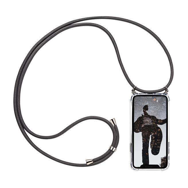 Handykette + Hülle für Apple iPhone 5 / 5S / SE Schutzhülle mit Band Kordel Schnur Case zum umhängen