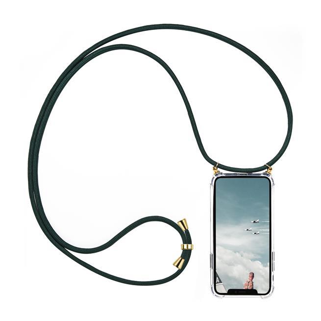 Handykette + Hülle für Samsung Galaxy S8 Schutzhülle mit Band Kordel Schnur Case zum umhängen