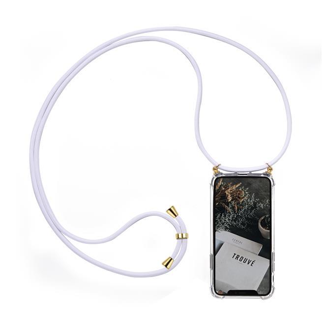 Handykette + Hülle für Huawei P30 Lite Schutzhülle mit Band Kordel Schnur Case zum umhängen
