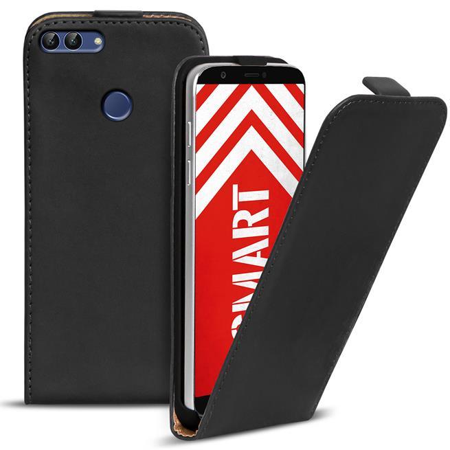 Flip Case Cover für Huawei P Smart Klapptasche Handy Schutz Hülle
