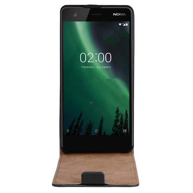 Flip Case Cover für Nokia 2 Klapptasche Handy Schutz Hülle
