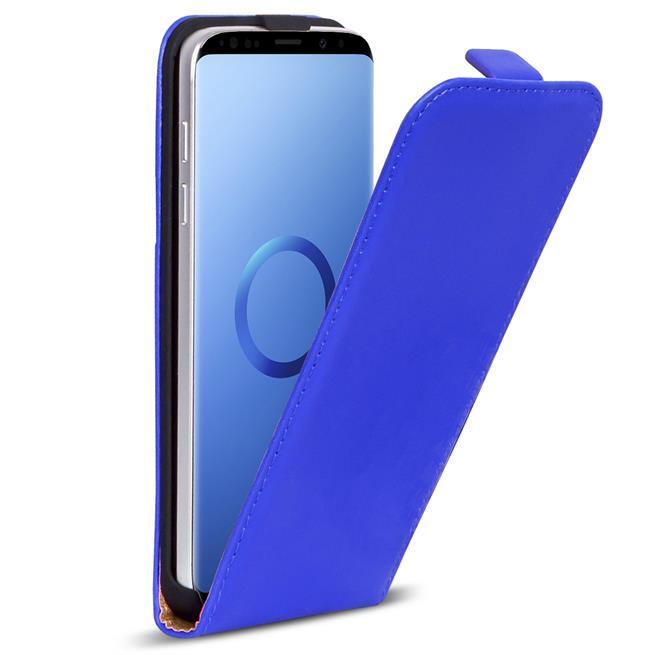 Basic Flip Case für Samsung Galaxy S9 Plus Klapptasche Cover Flipstyle Hülle in Blau