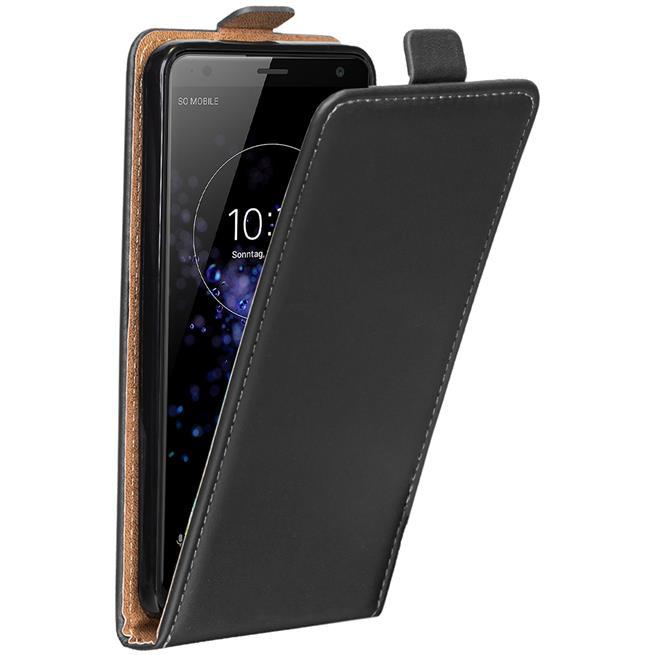 Flip Case Cover für Sony Xperia XZ2 Compact klappbare Hülle