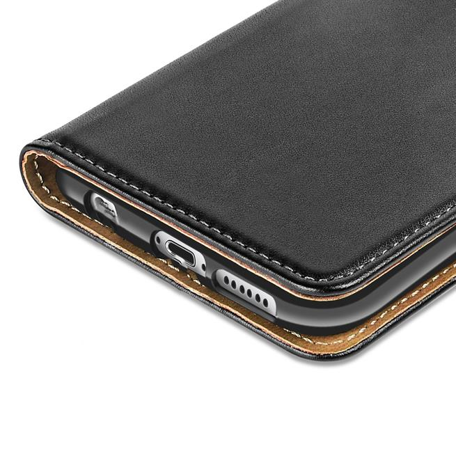 Basic Bookcase Hülle für Apple iPhone 6 / 6S klappbare Schutzhülle