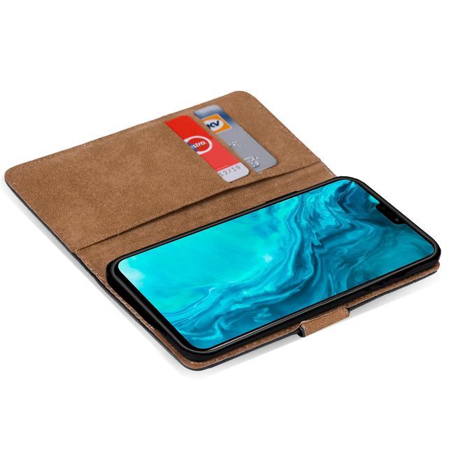 Basic Handyhülle für Honor 9X Lite Hülle Book Case klappbare Schutzhülle