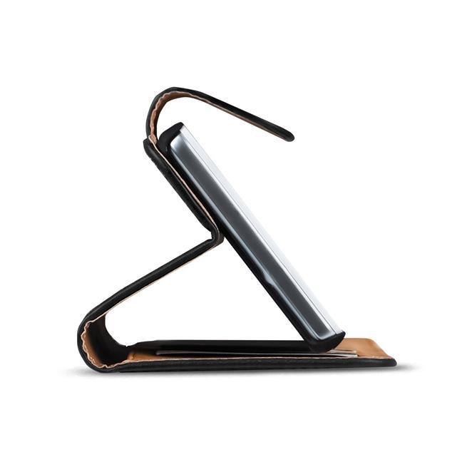 Basic Bookcase Hülle für HTC One M7 Schutzhülle mit Kartenfächern