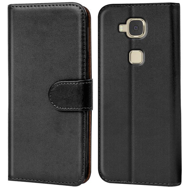 Basic Handyhülle für Huawei G8 GX8 Hülle Book Case klappbare Schutzhülle