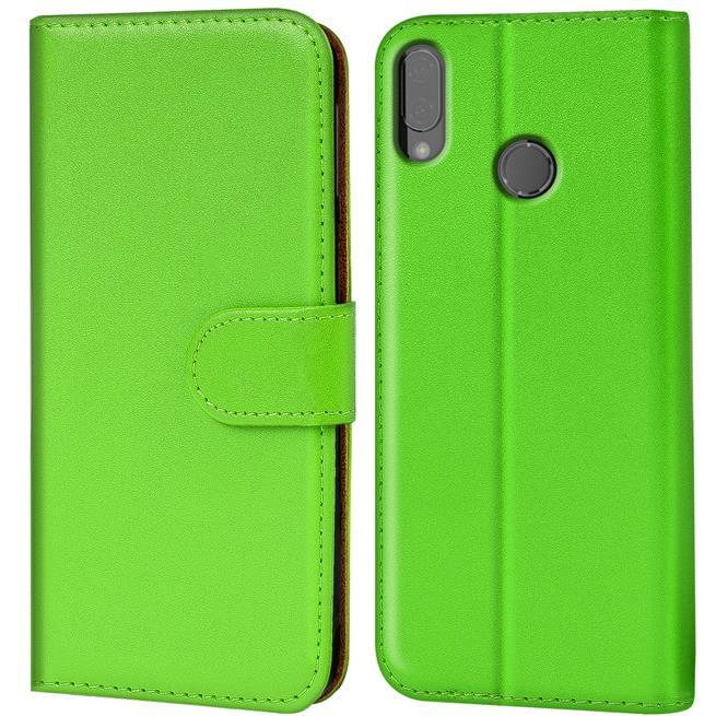 Huawei P20 Lite Basic Booklet Handy Hülle Brieftasche Wallet Case Cover mit Kartenfach