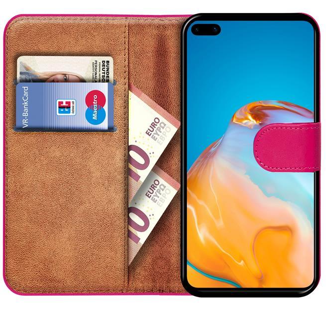 Basic Handyhülle für Huawei P40 Pro Hülle Book Case klappbare Schutzhülle
