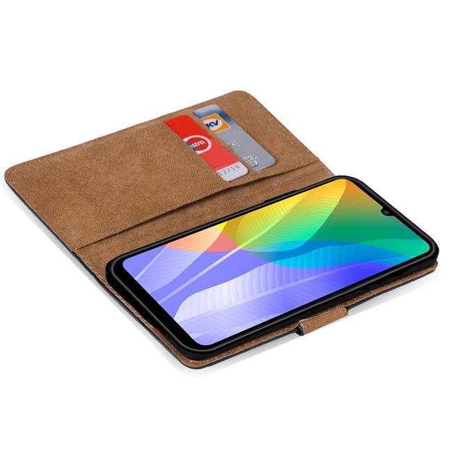 Basic Handyhülle für Huawei Y6p Hülle Book Case klappbare Schutzhülle