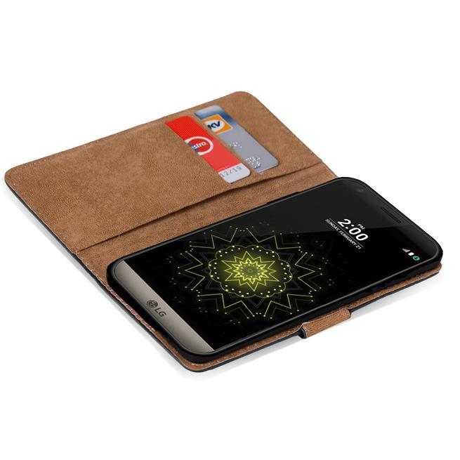 Basic Handyhülle für LG G5 / G5 SE Hülle Book Case klappbare Schutzhülle
