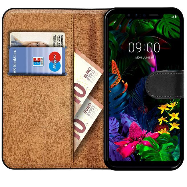 Basic Bookcase Hülle für LG V10 klappbare Tasche mit Kartenfächern