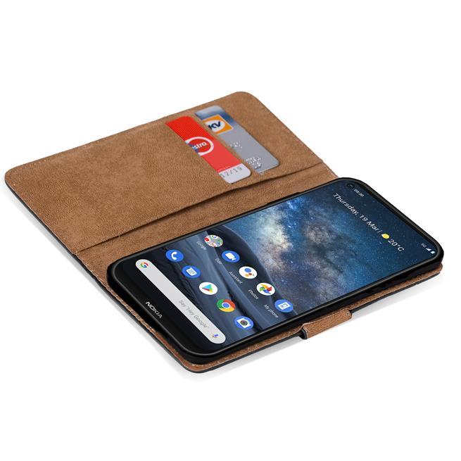 Basic Handyhülle für Nokia 8.3 5G Hülle Book Case klappbare Schutzhülle