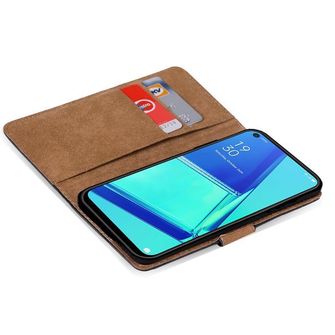 Basic Handyhülle für OPPO A52 / A72 Hülle Book Case klappbare Schutzhülle