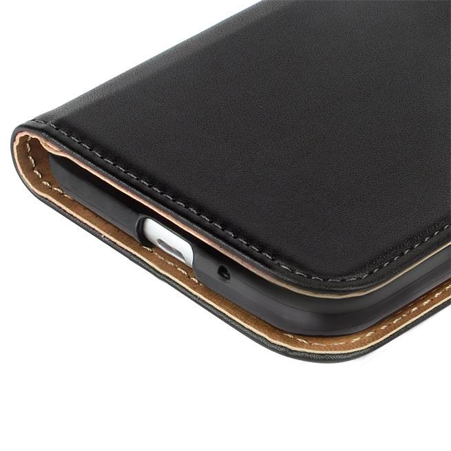 Basic Bookcase Hülle für Samsung Galaxy S3 / S3 Neo Klapphülle Tasche mit Kartenfächer in Weiss