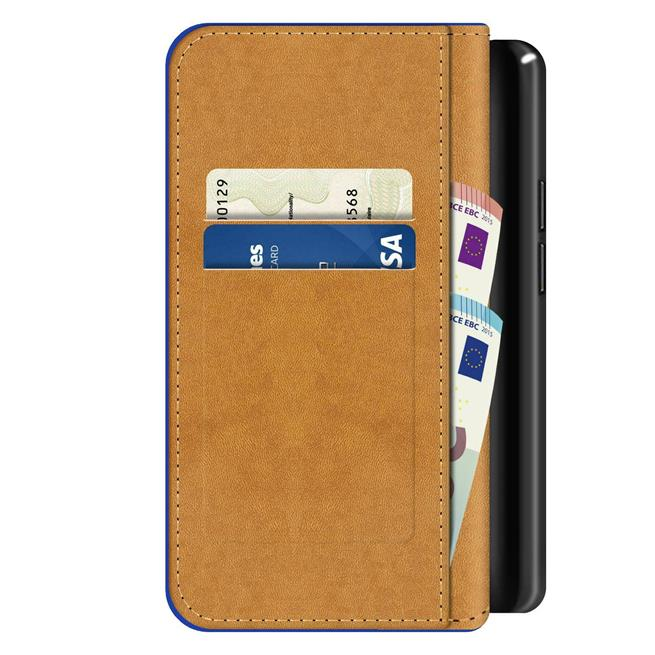 Basic Bookcase Hülle für Sony Xperia 10 II 2 Case klappbare Schutzhülle