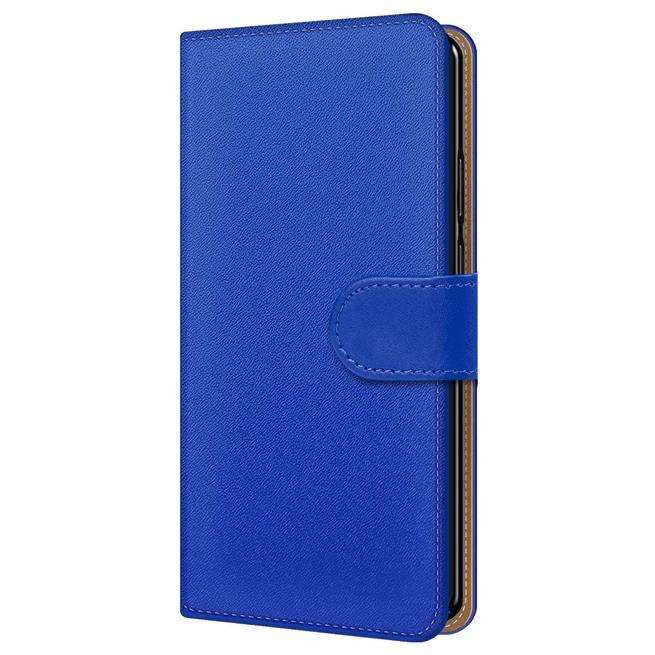 Basic Bookcase Hülle für Sony Xperia 1 II 2 Case klappbare Schutzhülle
