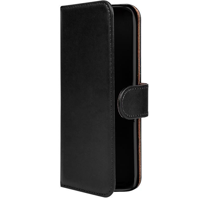 Basic Bookcase Hülle für Wiko Pulp 4G Schutzhülle mit Kartenfächern