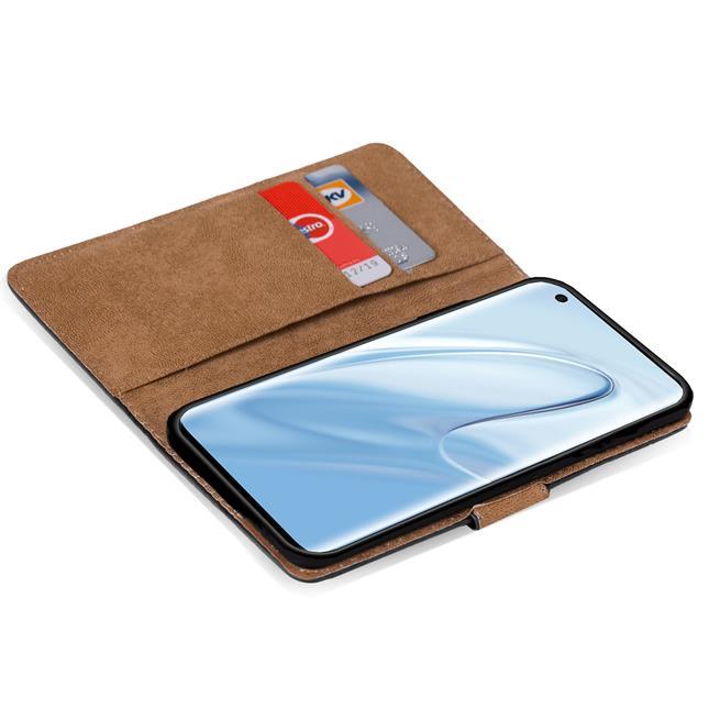 Basic Bookcase Hülle für Xiaomi Mi 10 Mi 10 Pro Case klappbare Schutzhülle