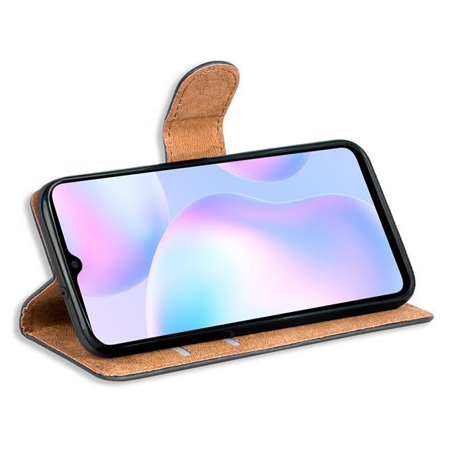 Basic Handyhülle für Xiaomi Redmi 9A Hülle Book Case klappbare Schutzhülle