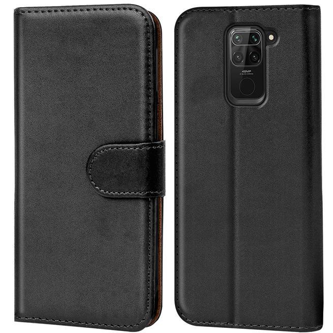 Basic Handyhülle für Xiaomi Redmi Note 9 Hülle Book Case klappbare Schutzhülle