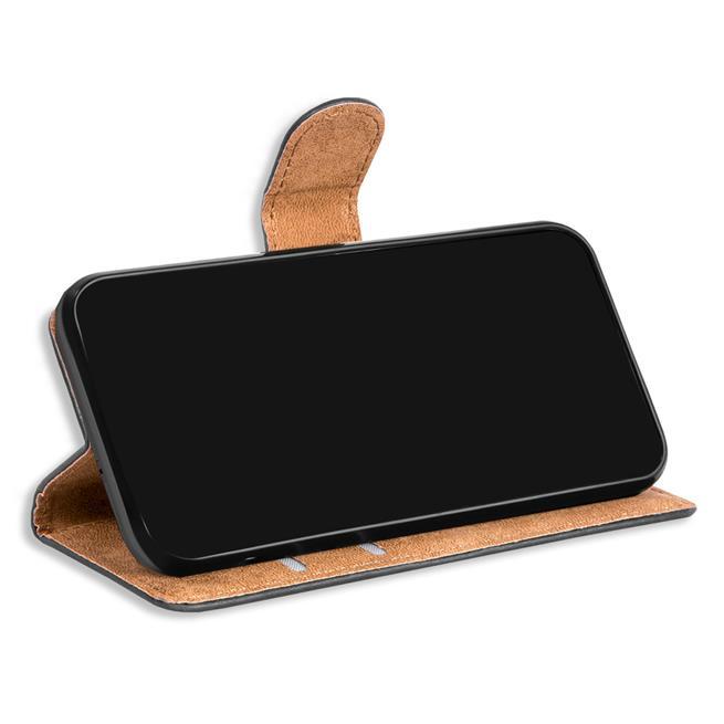 Basic Bookcase Hülle für ZTE Blade A5 2019 Case klappbare Schutzhülle