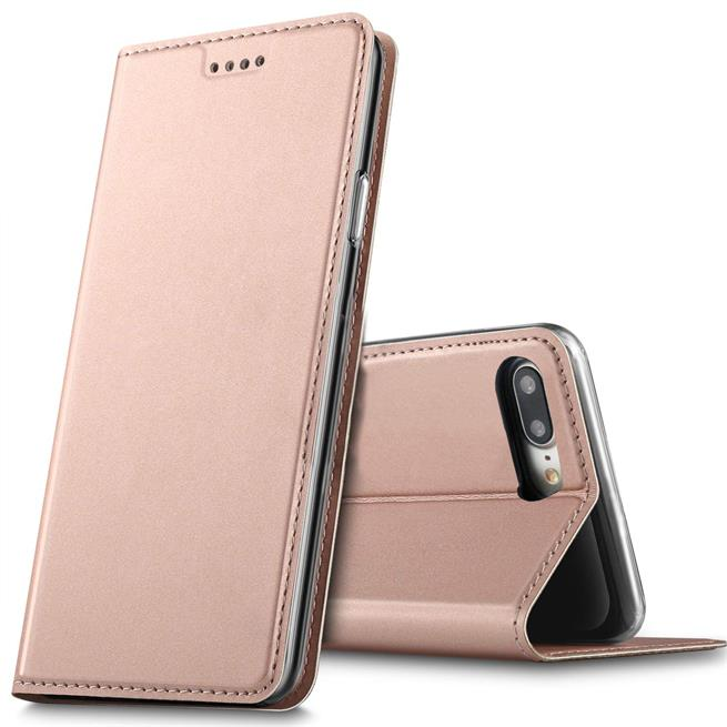 Slim Wallet Case für Apple iPhone 7 Plus / 8 Plus Magnet Schutz Hülle