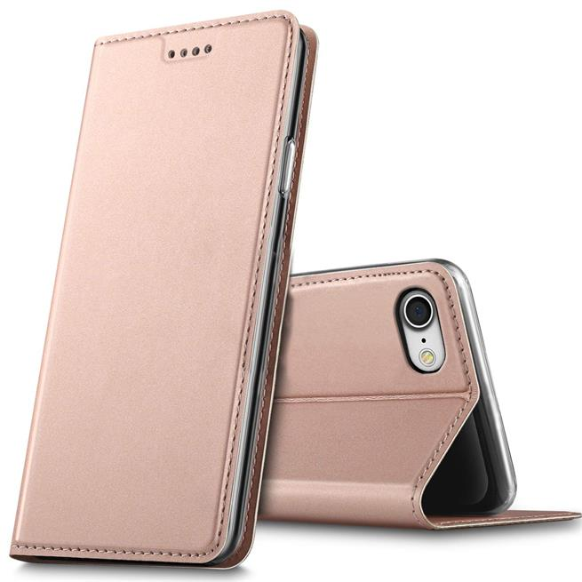 Slim Wallet Case für Apple iPhone 5 / 5S / SE Magnet Hülle aufstellbar