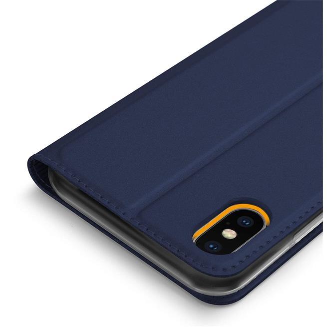 Slim Wallet Case für Apple iPhone X / XS aufstellbare Magnet Hülle