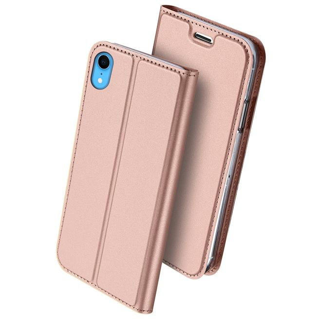 Slim Wallet Case für Apple iPhone XR Magnet Hülle mit Standfunktion