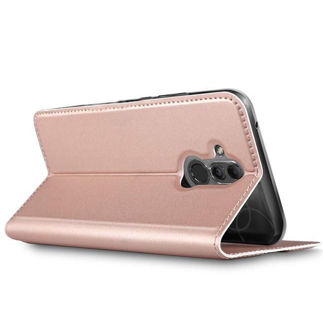 Slim Wallet Case für Huawei Mate 20 Lite aufstellbare Magnet Hülle