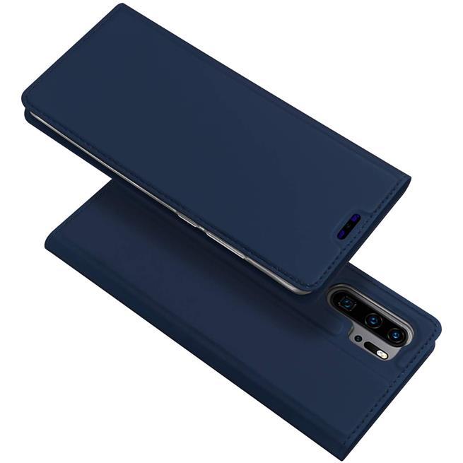 Slim Wallet Case für Huawei P30 Pro aufstellbare Magnet Hülle