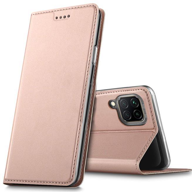 Magnet Case für Huawei P40 Lite Hülle Schutzhülle Handy Cover Slim Klapphülle