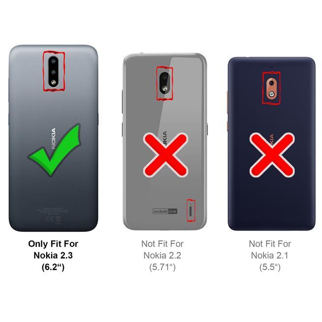 Magnet Case für Nokia 2.3 Hülle Schutzhülle Handy Cover Slim Klapphülle