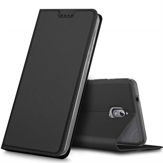 Slim Wallet Case für Nokia 3.1 Magnet Schutz Hülle mit Standfunktion