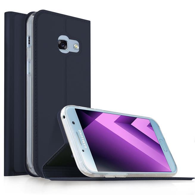 Slim Wallet Case für Samsung Galaxy A5 2017 aufstellbare Magnet Hülle