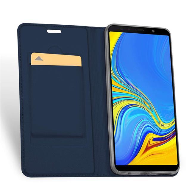 Slim Wallet Case für Samsung Galaxy A7 2018 aufstellbare Magnet Hülle