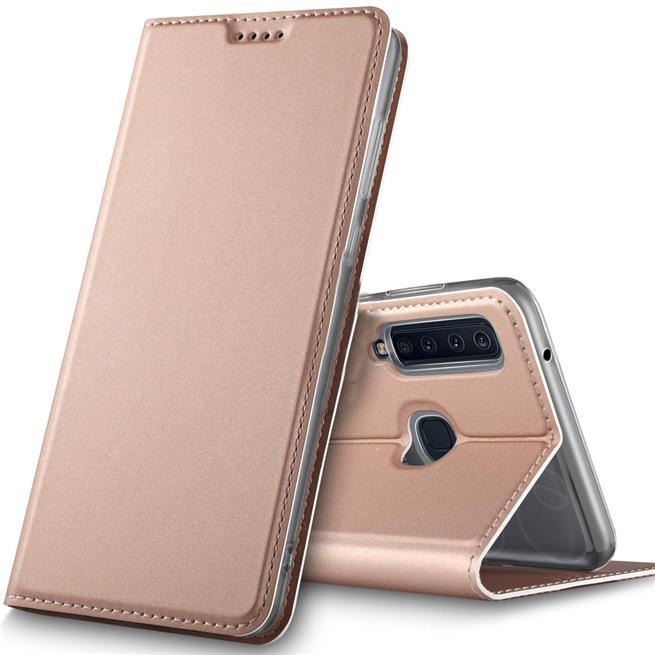 Slim Wallet Case für Samsung Galaxy A9 2018 aufstellbare Magnet Hülle