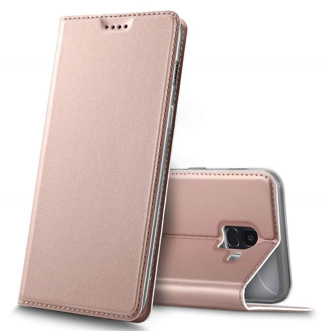 Slim Wallet Case für Samsung Galaxy J6 2018 aufstellbare Magnet Hülle