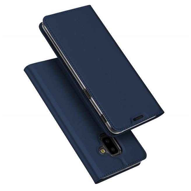 Slim Wallet Case für Samsung Galaxy J6 Plus aufstellbare Magnet Hülle