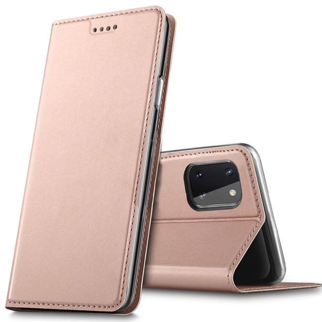 Magnet Case für Samsung Galaxy Note 10 Lite Hülle Schutzhülle Handy Cover Slim Klapphülle