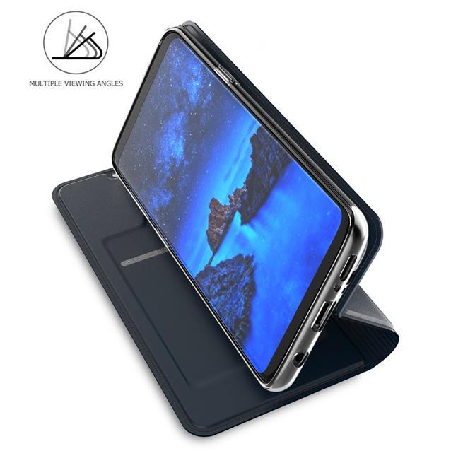 Slim Wallet Case für Samsung Galaxy S9 Plus aufstellbare Magnet Hülle