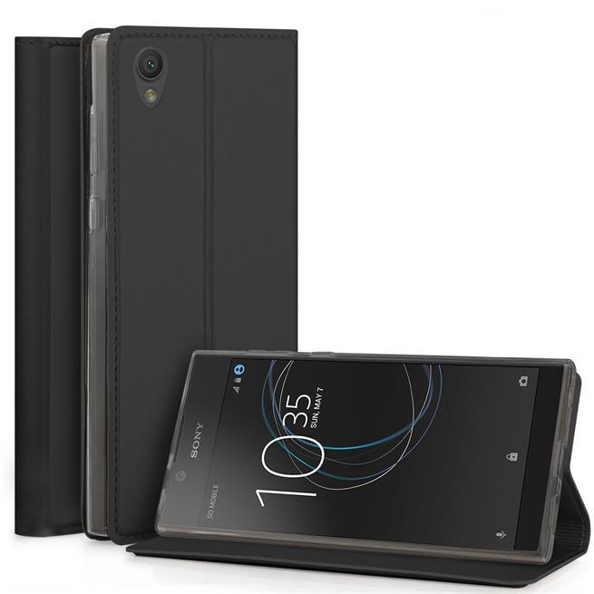 Slim Wallet Case für Sony Xperia L1 Magnet Hülle mit Standfunktion